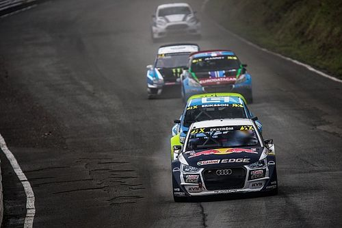 Germany WRX: Ekstrom leads Hansen on Day 1