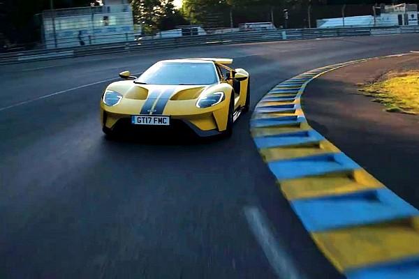 Ken Block se pasea con un Ford GT por Le Mans