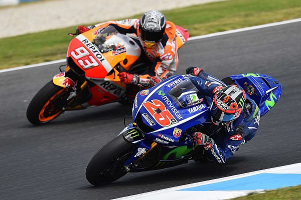 MotoGP Vinales hits out at Marquez for following him on long run