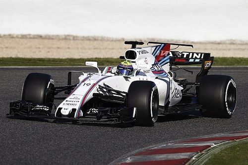 Barcelona F1 test: Massa puts Williams top on first morning