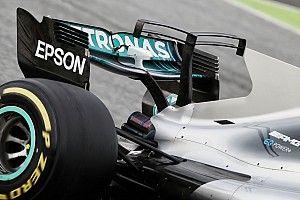 La F1 estudiará eliminar las aletas de tiburón y los T-wings en 2018