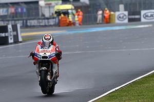 MotoGP 速報ニュース 【MotoGP】ロレンソ「ドライなら良いはず」と土曜以降に自信