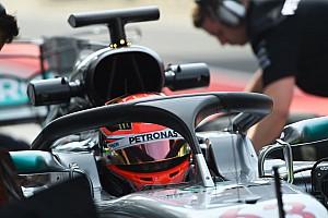 F1 Noticias de última hora Russell quedó sorprendido por la buena visibilidad con el Halo