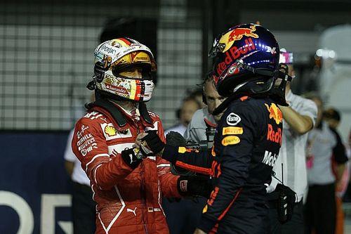 Vettel verslaat Verstappen in zinderende strijd om pole-position