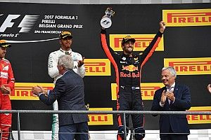 Ricciardo logró un podio inesperado