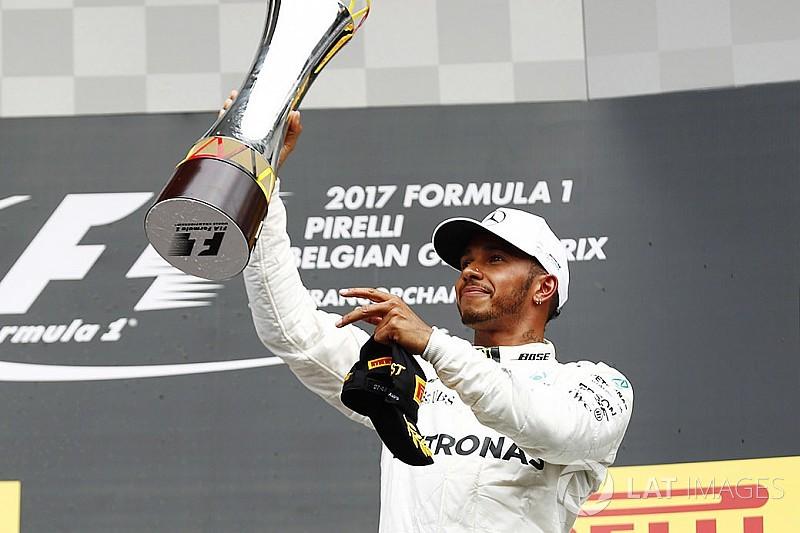 "Formel 1 2017: Lewis Hamilton ""Fahrer des Tages"" in Spa"