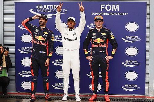 La parrilla de salida del GP de Italia