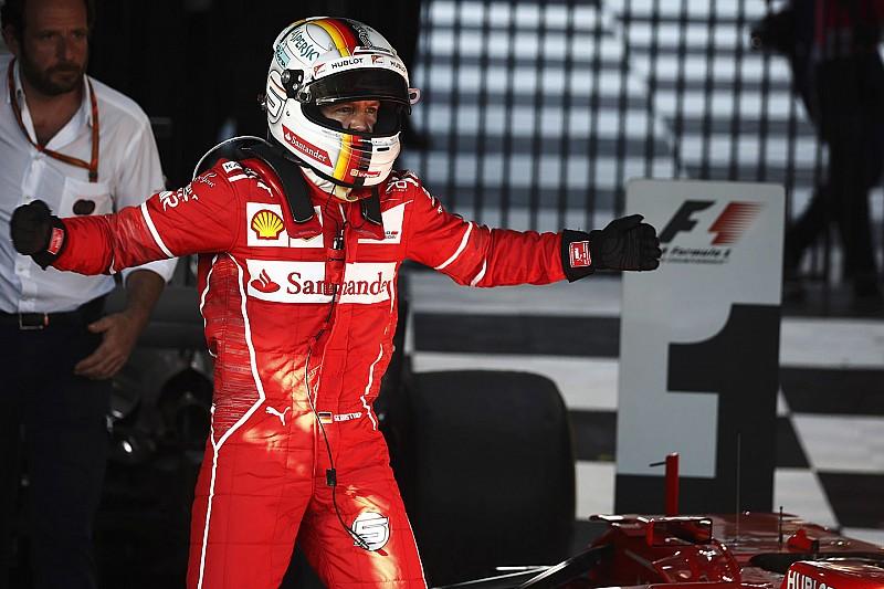 """Vettel: """"Hemos mandado el mensaje de que estamos aquí para luchar"""""""
