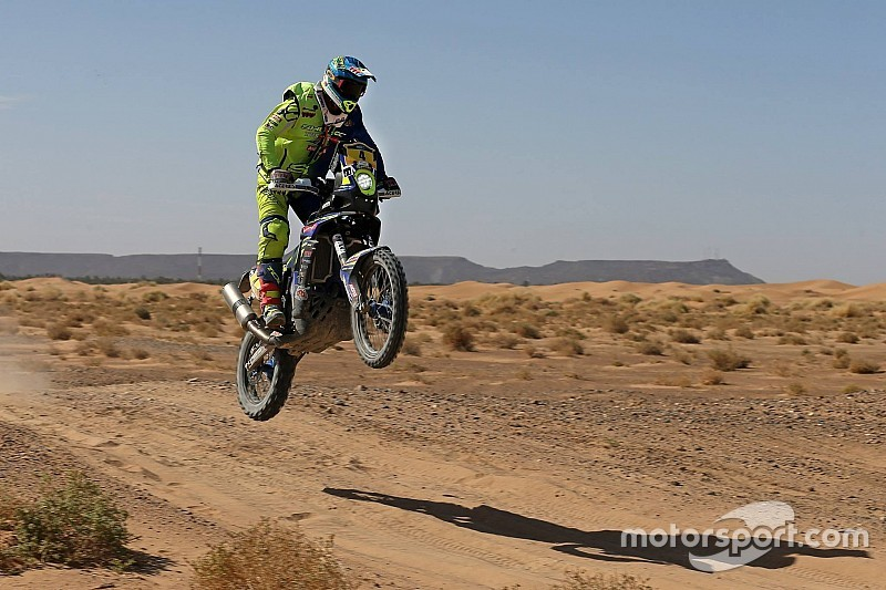 Rally of Morocco: TVS Sherco's Pedrero sixth after Stage 4