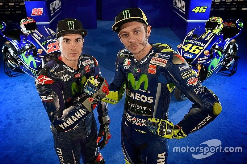 L'équipe Yamaha prête à reprendre le titre pilotes en MotoGP