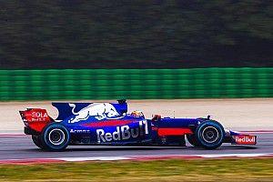 红牛二队STR12亮相加泰罗尼亚赛道
