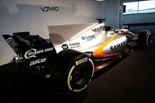 Force India VJM10: nel retrotreno c'è la sospensione idraulica