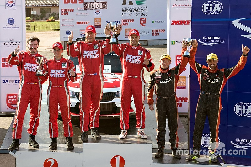Kreim and Young content with APRC season despite defeat to Gill