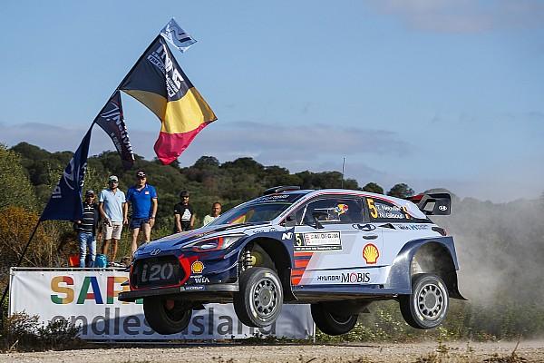 【WRC】イタリア1日目:ヌービル首位。トヨタ勢はトップ10圏外