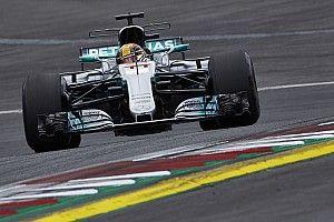 Hamilton denkt niet gemakkelijk naar voren te kunnen rijden