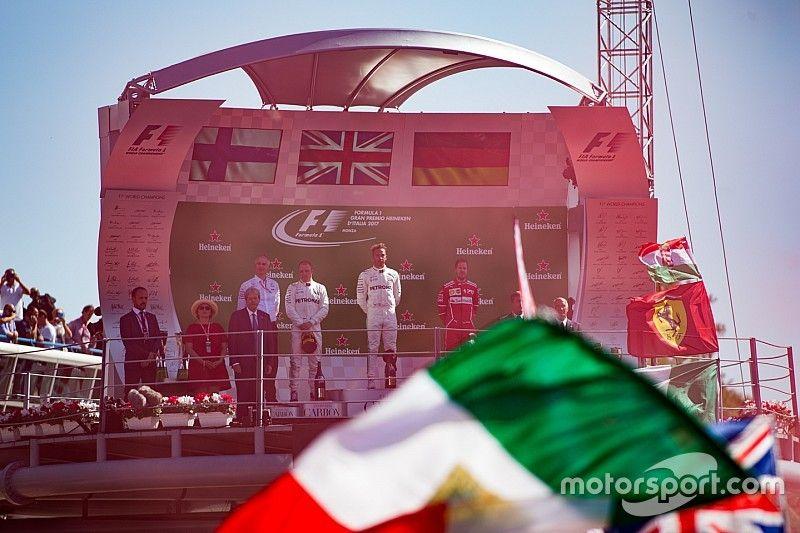Los horarios del GP de Italia de F1