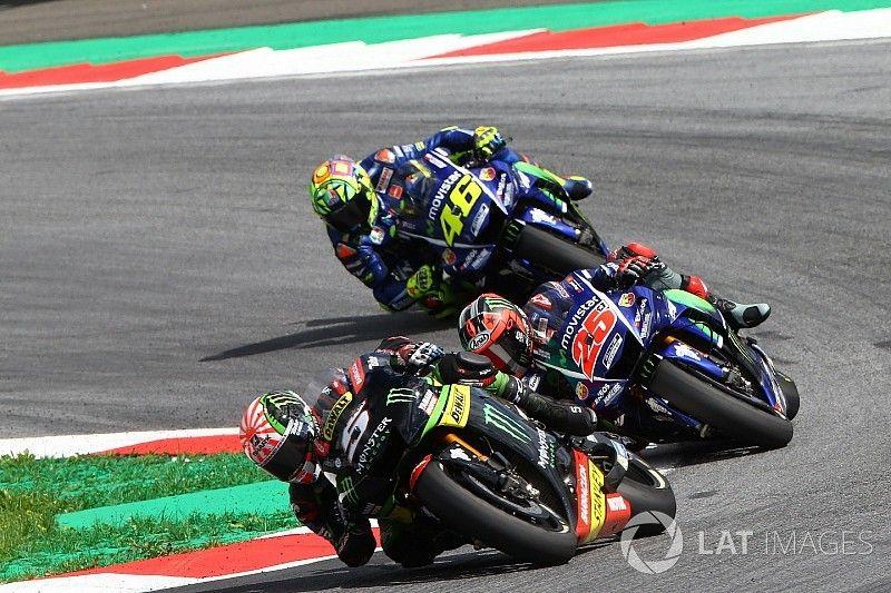 "Rossi: ""Grip achterband werd na twaalf ronden snel minder"""