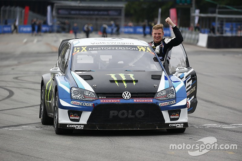 Latvia WRX: Kristoffersson secures title with fifth straight win