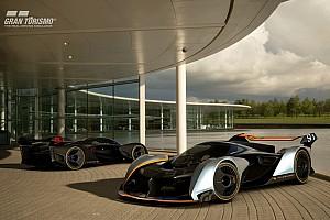 eSports Ultime notizie La McLaren sbarca sulla PS4 con la Ultimate Vision Gran Turismo