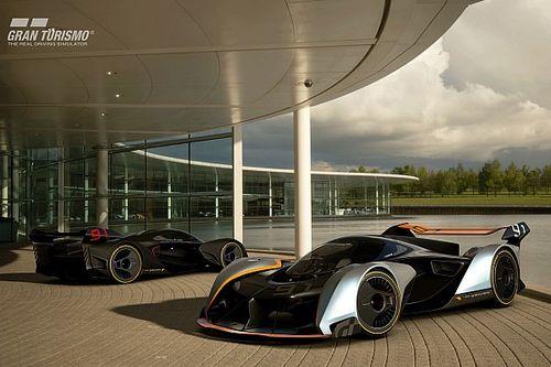 McLaren imagine un concept radical pour Grand Turismo Sport