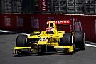 FIA F2 Formel 2 in Baku: Norman Nato gewinnt nach Strafe gegen Charles Leclerc