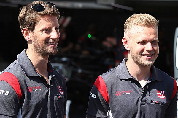 Haas pertahankan Grosjean-Magnussen untuk musim 2018