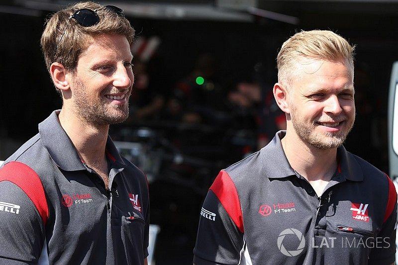 Haas says it will retain Grosjean, Magnussen in 2018