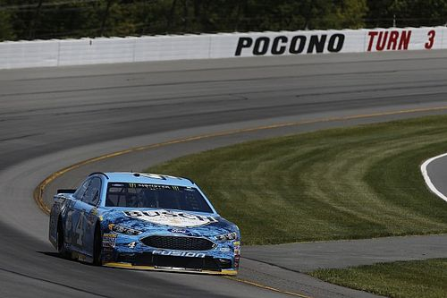 """Harvick rallies for second at Pocono but """"should have blown up"""""""