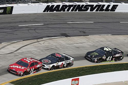 Harvick not surprised by how well Bowyer has fit in at SHR