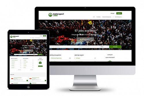 Motorsport Network lanceert vacaturesite Motorsportjobs.com