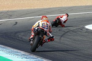 Marquez all in-t nyomott Jerezben, meg is rémült