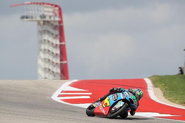 Moto2 Morbidelli saldrá en pole por delante de Pasini y Márquez