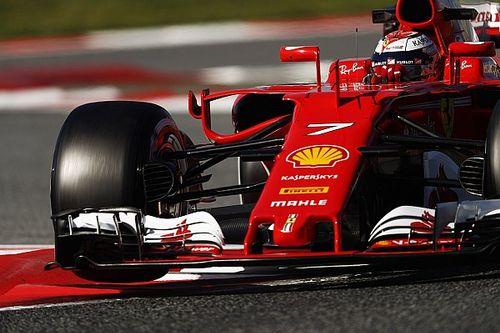 Tes Barcelona: Raikkonen tembus 1:18, McLaren-Honda dua kali berhenti