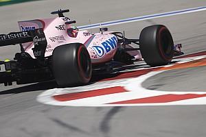 Forma-1 Jelentés az időmérőről Force India: Ocon elégedett, Pérez nem