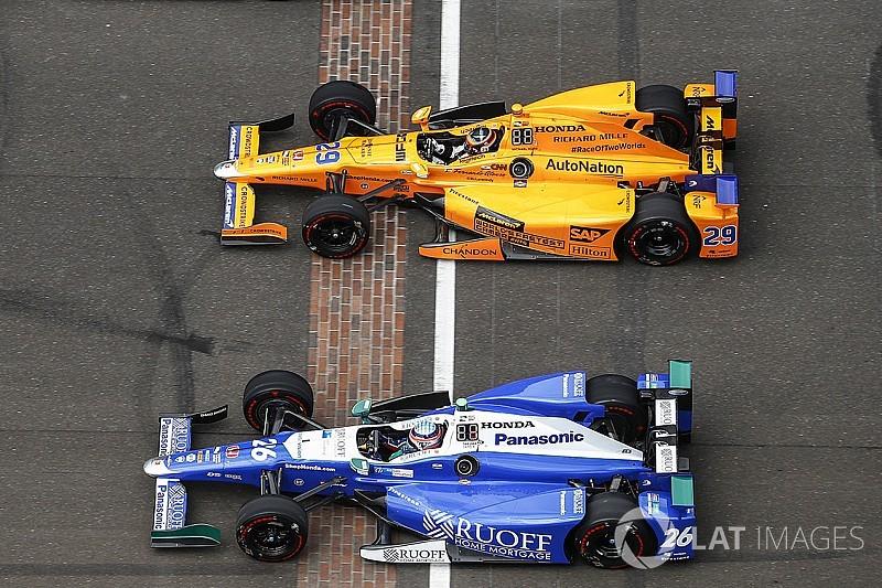 Alonso ve Sato IndyCar'ın popülerliğini artırdı