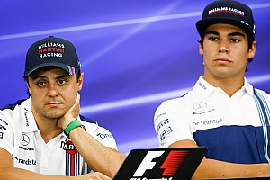 """Stroll rebate declarações de Massa: """"Ele não está aqui"""""""