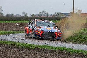 WRC: Hyundai svolge un test in vista del Rally Ypres