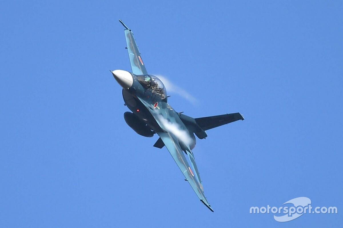 最高速度マッハ2。航空自衛隊F-2Bの歓迎フライトがスーパーGTもてぎで実現へ
