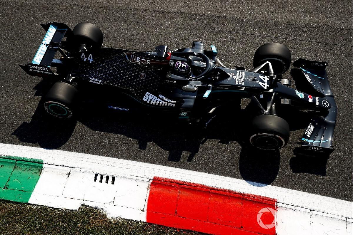 2020 F1 Italian Grand Prix Qualifying Results Grid Lineup