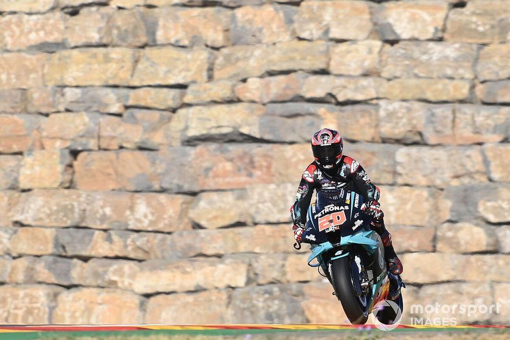 Aragon MotoGP: Quartararo, sakatlığına rağmen pole pozisyonunu aldı!