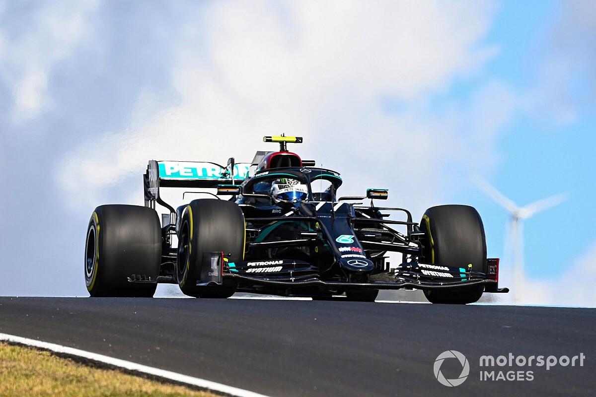 Portuguese GP: Bottas tops FP2 as Verstappen, Stroll clash