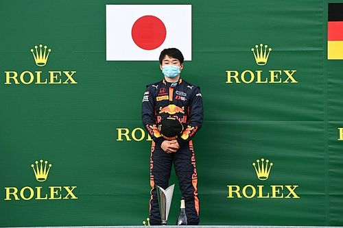 角田裕毅、今季2勝目で一躍タイトル候補に浮上も「プレッシャーはあまり感じていない」