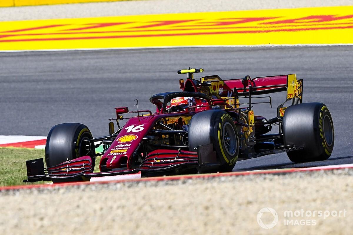 """Leclerc : """"La 5e place dépasse toutes nos attentes"""""""