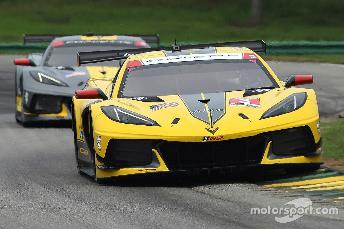 """Corvette's Garcia thought he had a tire """"blowing up"""" ahead of win"""