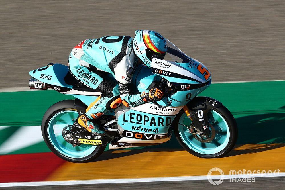 Moto3 Valencia 1. antrenman: Masia lider, Deniz 31.