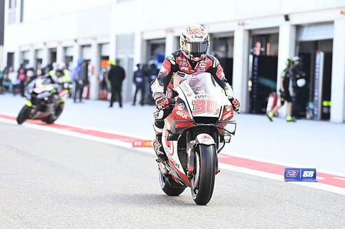 "Nakagami ""not interested"" in MotoGP title fight"