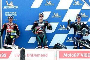 La grille de départ du Grand Prix d'Aragón MotoGP