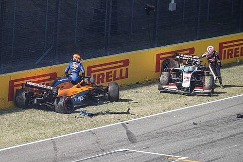 Sainz: fue un accidente muy peligroso y esto no se puede repetir