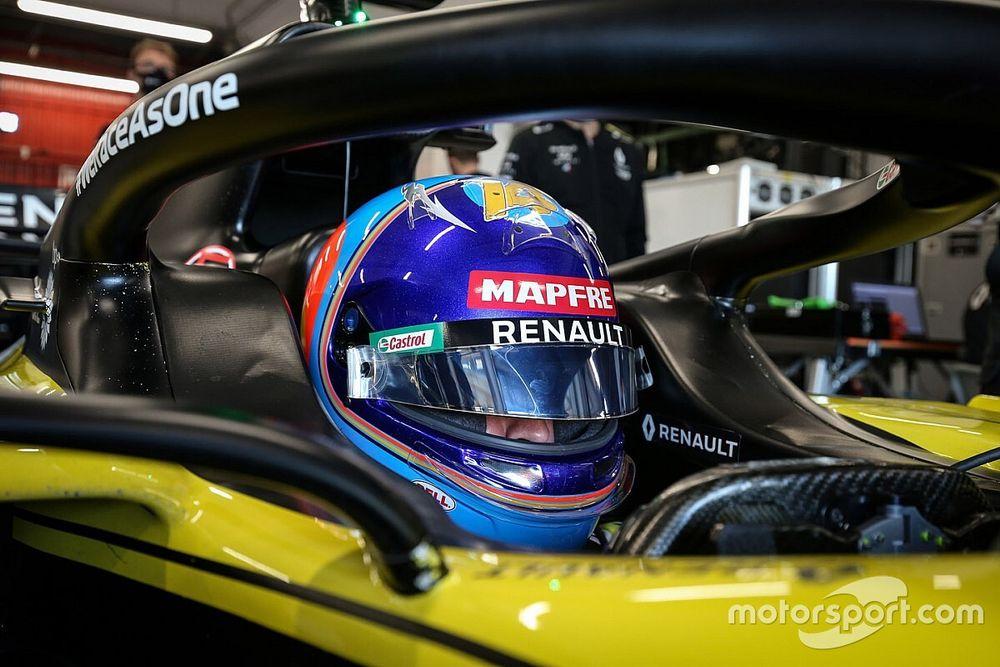 Alonso kruipt in Bahrein achter het stuur van de R.S.18