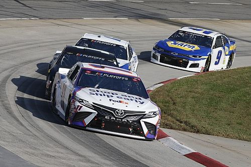 "Denny Hamlin hoping to ""finish this thing off"" at Phoenix"